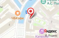 Схема проезда до компании Инсайтдизайн в Санкт-Петербурге