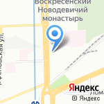 Мекран на карте Санкт-Петербурга