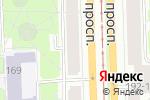 Схема проезда до компании АКБ Авангард, ПАО в Санкт-Петербурге