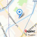 Oh! my tea на карте Санкт-Петербурга