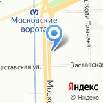 Кофе Хауз на карте Санкт-Петербурга