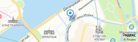 КРК-Страхование на карте Санкт-Петербурга