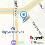 Реал-Проект на карте Санкт-Петербурга