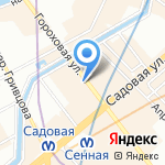 Bazar на карте Санкт-Петербурга