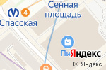 Схема проезда до компании Шахерезада в Санкт-Петербурге