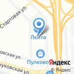 Спортуха на карте Санкт-Петербурга