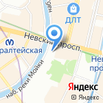 Институт иностранных языков на карте Санкт-Петербурга