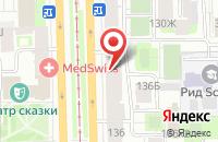 Схема проезда до компании Гиперион-Плюс в Санкт-Петербурге