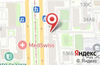 Схема проезда до компании Оптик Хаус в Санкт-Петербурге