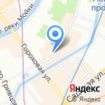 Почтовое отделение №186 на карте Санкт-Петербурга