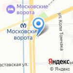 7 отряд ФПС по г. Санкт-Петербургу на карте Санкт-Петербурга