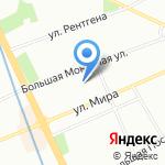 Энеко на карте Санкт-Петербурга