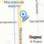 Пожнефтехим на карте Санкт-Петербурга