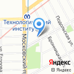 Гарант-строй на карте Санкт-Петербурга