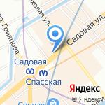 Rose & Art на карте Санкт-Петербурга