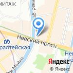 Центральная городская публичная библиотека им. В.В. Маяковского на карте Санкт-Петербурга