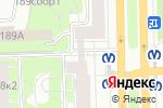 Схема проезда до компании Россельхозбанк в Санкт-Петербурге