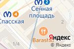 Схема проезда до компании Призовой в Санкт-Петербурге