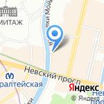 На Абордаж на карте Санкт-Петербурга