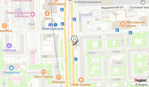 Продуктовый магазин. Схема проезда в Санкт-Петербурге