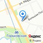 Управление садово-паркового хозяйства на карте Санкт-Петербурга