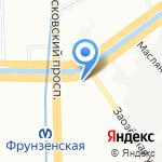 Yoga Art на карте Санкт-Петербурга