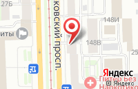 Схема проезда до компании Кватро в Санкт-Петербурге