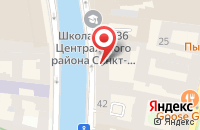 Схема проезда до компании Театр Эстрады в Санкт-Петербурге