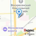 Свято-Владимирская школа на карте Санкт-Петербурга