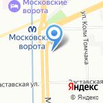 ЭВРИКА на карте Санкт-Петербурга