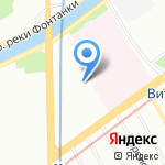 МЕЖРЕГИОНЭКСПЕРТИЗА на карте Санкт-Петербурга