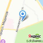 КЕПСТР на карте Санкт-Петербурга