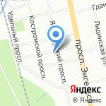 Мир на ладошке на карте Санкт-Петербурга