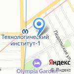 Санкт-Петербургский НИИ уха на карте Санкт-Петербурга