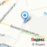 ЗВУК на карте Санкт-Петербурга