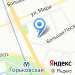 Нотариус Дзенс Н.А. на карте Санкт-Петербурга