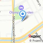 Наркологический центр на карте Санкт-Петербурга