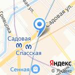 Ломбард Эдельвейс на карте Санкт-Петербурга