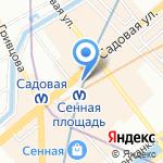 MAVEGO на карте Санкт-Петербурга