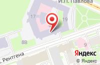 Схема проезда до компании Нефрология в Санкт-Петербурге