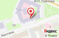 Схема проезда до компании Первомай в Первомайском
