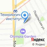 Tea Room на карте Санкт-Петербурга
