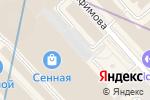 Схема проезда до компании Stradivarius в Санкт-Петербурге