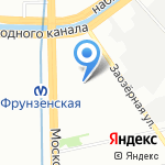 Коннет на карте Санкт-Петербурга