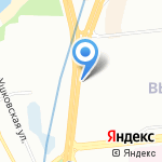 Ансайт на карте Санкт-Петербурга