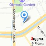 Санкт-Петербургский экспериментальный производственный комбинат МВД РФ на карте Санкт-Петербурга