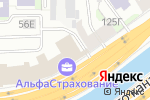 Схема проезда до компании Emerging Markets Group в Санкт-Петербурге