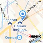 Часовня Святого Иоанна Сочавского на карте Санкт-Петербурга