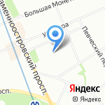 Абрис-багет и сервис на карте Санкт-Петербурга