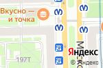 Схема проезда до компании Sofia в Санкт-Петербурге